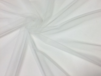 Stretch ivory tulle 50811-2
